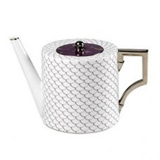 Richard Ginori Luna Oceano Viola Tea Pot 1.35ltr